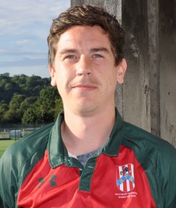 1 XI Captain Gareth Nicholls