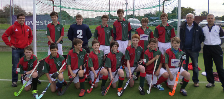 Westbury & United Banks HC U16 Team 2014