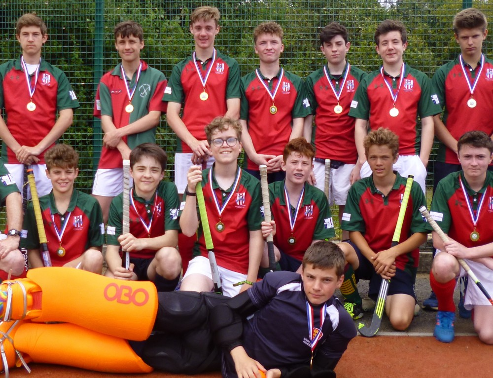 Under 16s Win the League & Tournament Double!